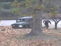 Dramatic video shows North Korean soldier come under fire during escape to South