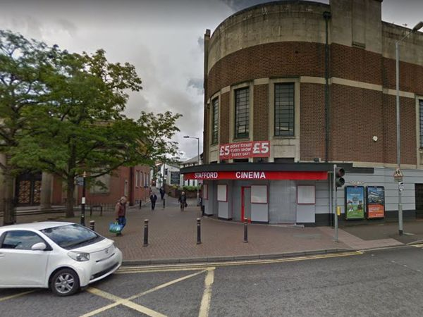 The assault is alleged to have happened outside the old Stafford Cinema. Photo: Google