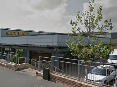 Cash box stolen in robbery at Morrisons