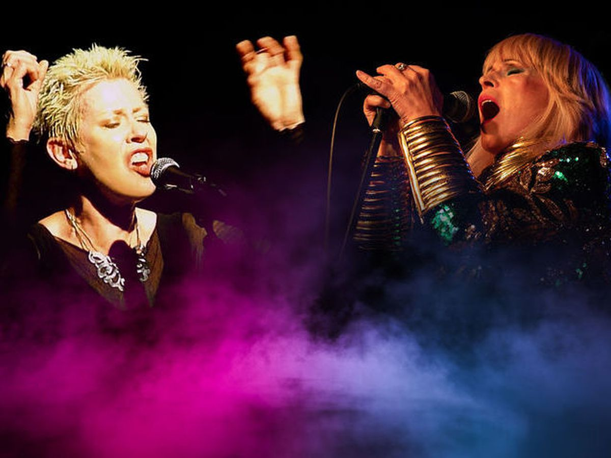 Hazel O'Connor and Toyah Wilcox