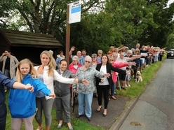 Campaigners queuing up to show anger at Dudley bus shake-up