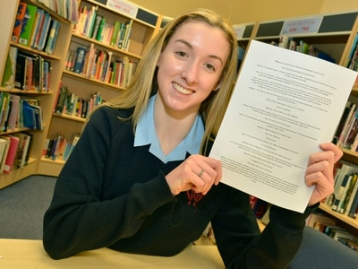 'I really do love living here': Meet the schoolgirl who has penned an essay in tribute to Wolverhampton