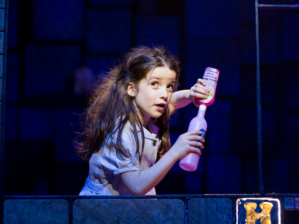 Matilda The Musical: Cast head to Birmingham Hippodrome to promote hit show - with tweets, pictures and videos
