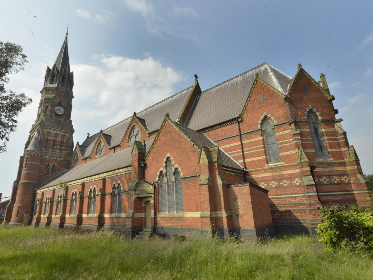 St Luke's Church in Blakenhall is being transformed into an antiques emporium