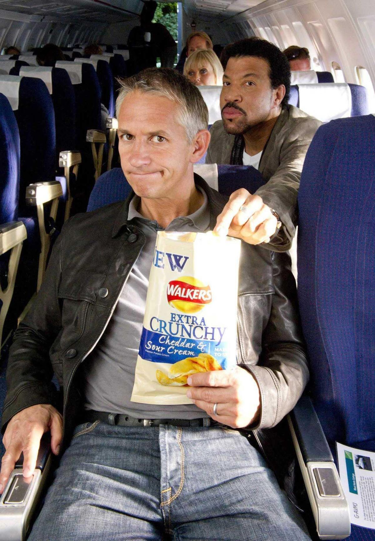 Gary Lineker has fronted Walkers crisp adverts for more than 20 years
