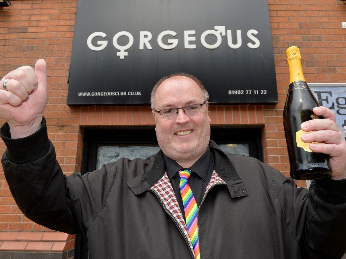 Shaun Keasey, owner of Gorgeous nightclub