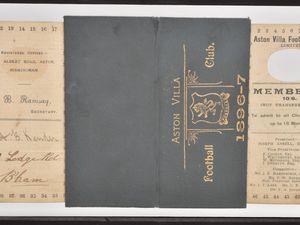 The 1896/97 season ticket.
