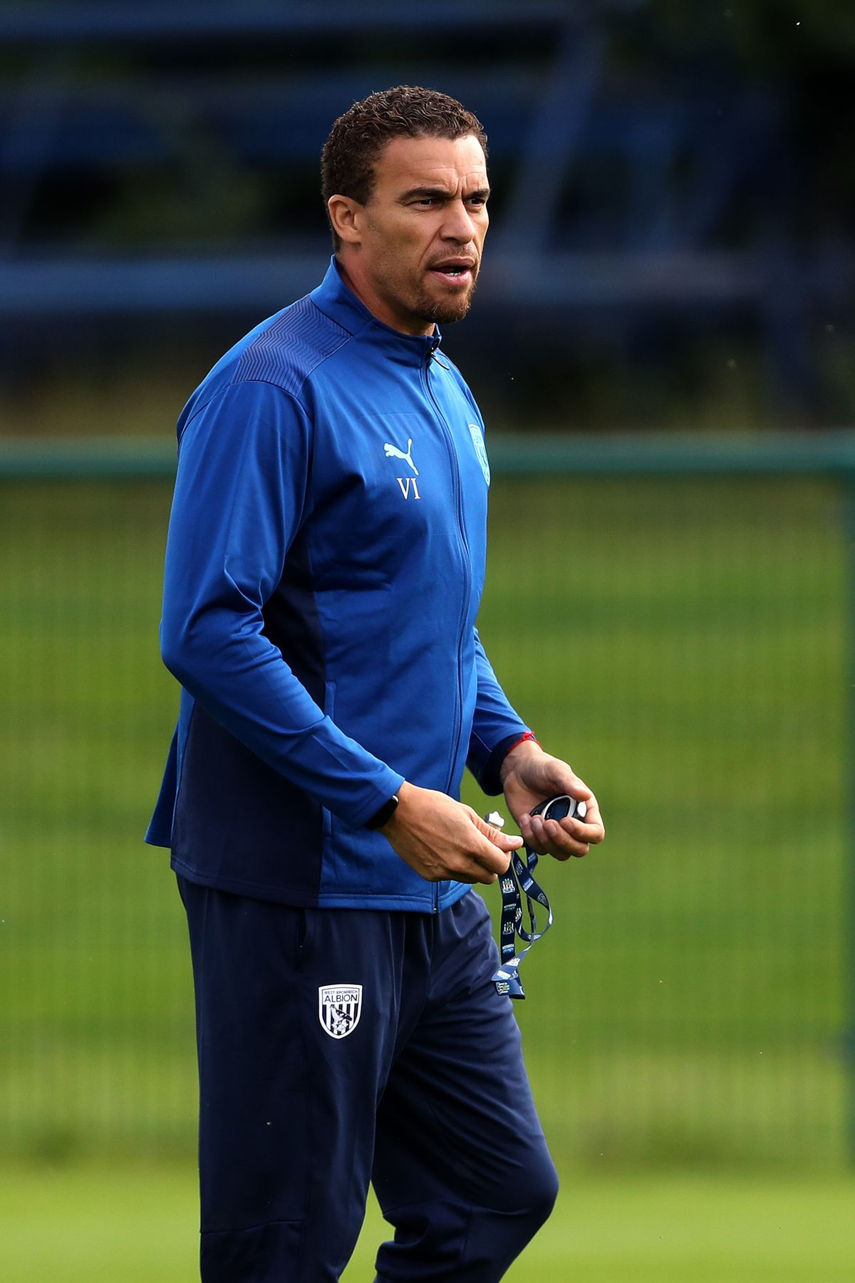 Valerien Ismael head coach / manager of West Bromwich Albion.