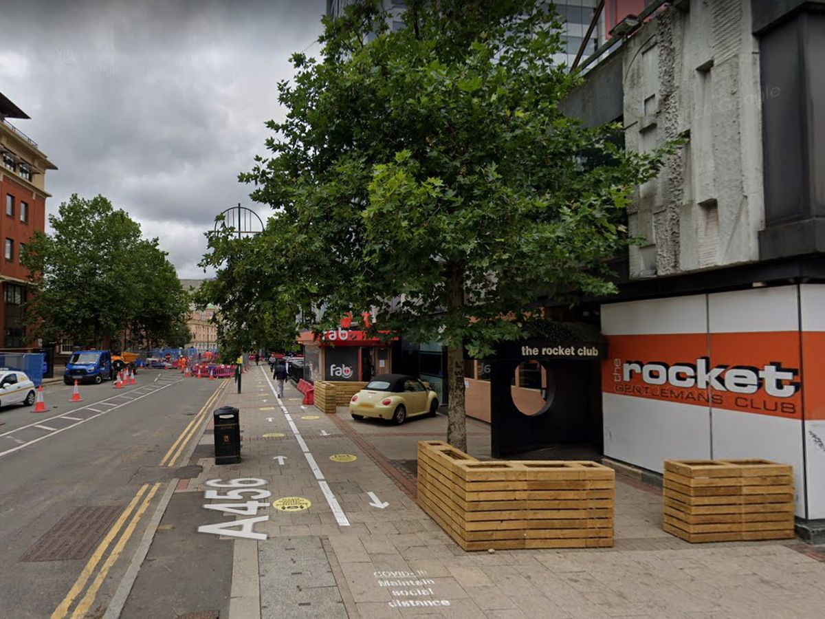 The Rocket Club, in Broad Street. Photo: Google Maps