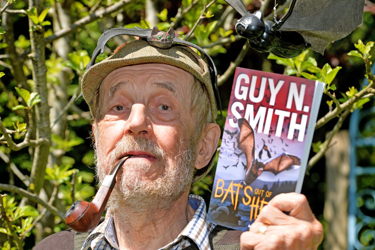 Guy N Smith from Black Hill near Clun re-released his 1978 novel about an epidemic caused when a bat escapes from a laboratory over the Cannock Chase, eerily predicting the coronavirus