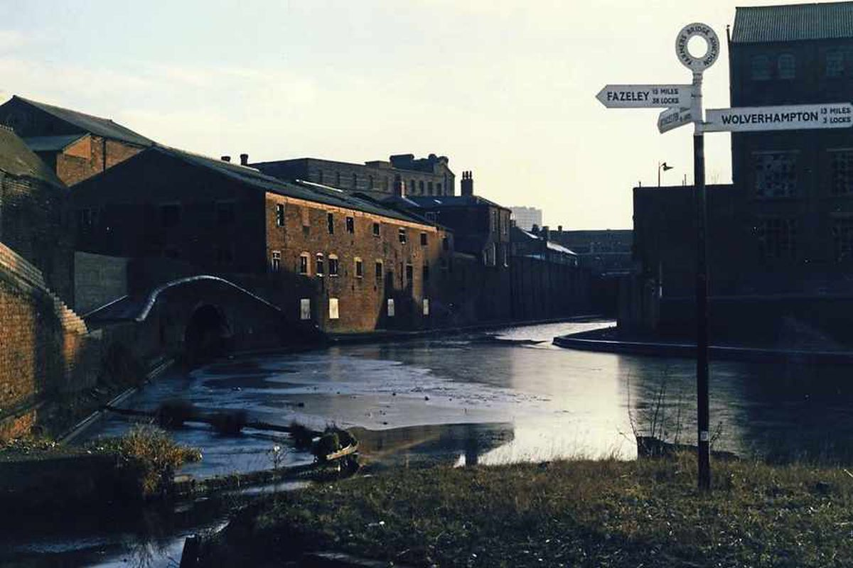 Rundown and dreary buildings lined the canalside before the 1990s brought the £250m redevelopment
