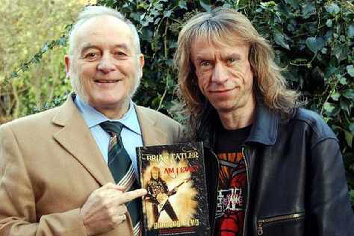 Diamond Head and the man from Metallica