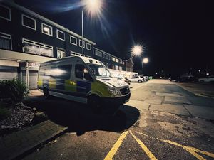 Officers were out and about during the night targeting ASB. Photo: Staffordshire Police