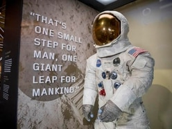 Neil Armstrong's restored Apollo 11 spacesuit goes on display