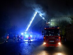 Huge blaze at Walsall recycling centre - with VIDEO and PICTURES