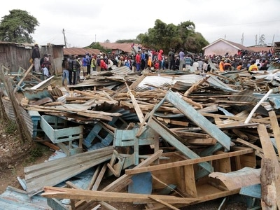 Children killed as school collapses in Kenya's capital
