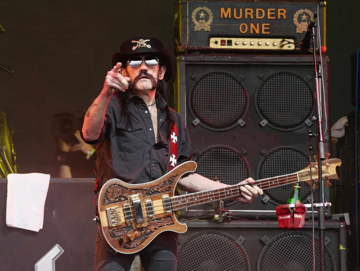 Iconic heavy metal star Ian 'Lemmy' Kilmister fronted Motorhead and died in December