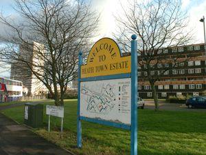 The Heath Town estate in Wolverhampton