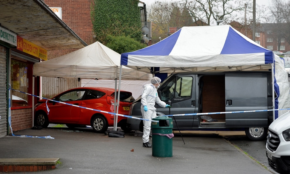 Man Stabbed To Death After Car Rammed Into Chinese Takeaway