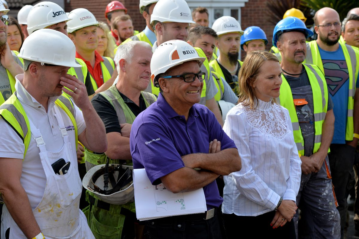 DIY SOS gets to work in West Bromwich