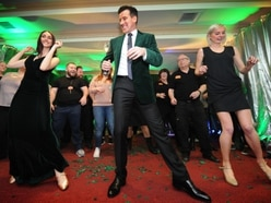 Strictly star Anton Du Beke waltzes in to honour Wolverhampton carers - PICTURES and VIDEO