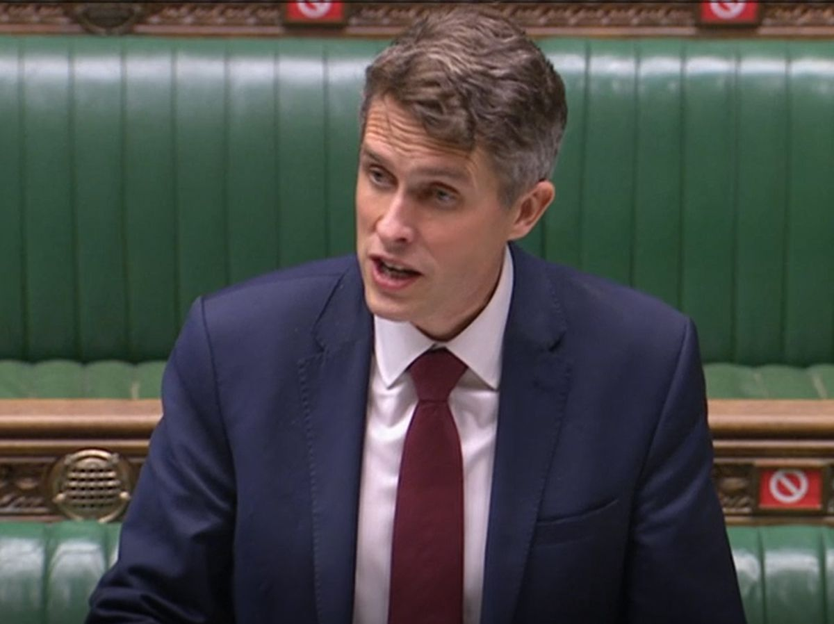 Education Secretary Gavin Williamson said families could access the required support through Universal Credit