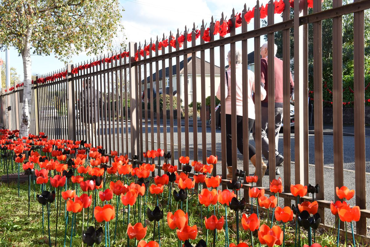 The tribute marks the centenary of the end of the First World War