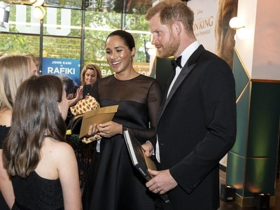 New video emerges of Sussexes joking about voiceover work