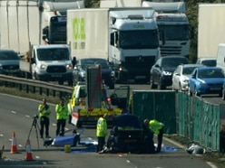 Lorry driver denies M6 death crash charges