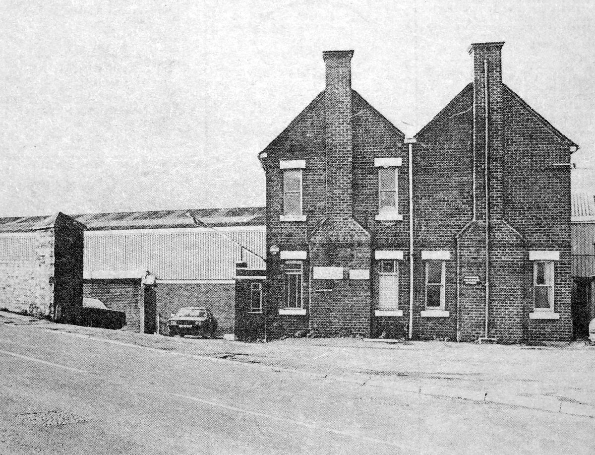 Haybridge Steel Company's premises in Hadley, Telford, on the day its closure was announced in November, 1982