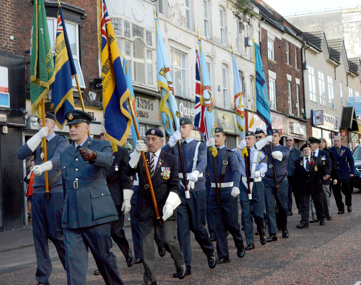 The Dudley parade and ceremony