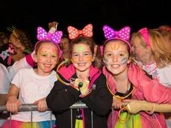 Hundreds enjoy neon run for Mary Stevens Hospice