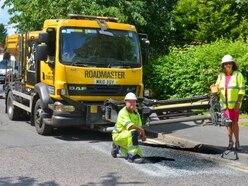 Extra £5m pothole pledge for Staffordshire