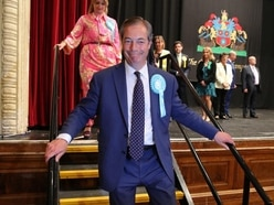 Tories humiliated as Nigel Farage's Brexit Party surges to victory