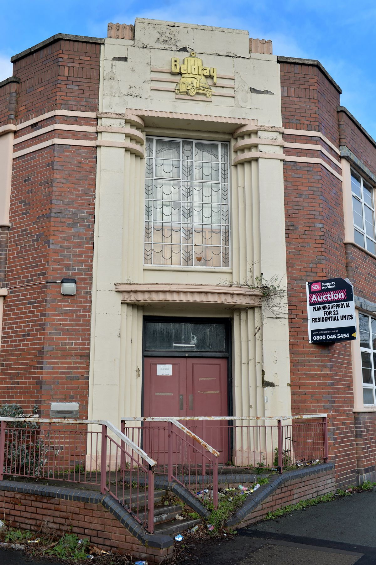 The two-storey Beldray building in Mount Pleasant, Bilston