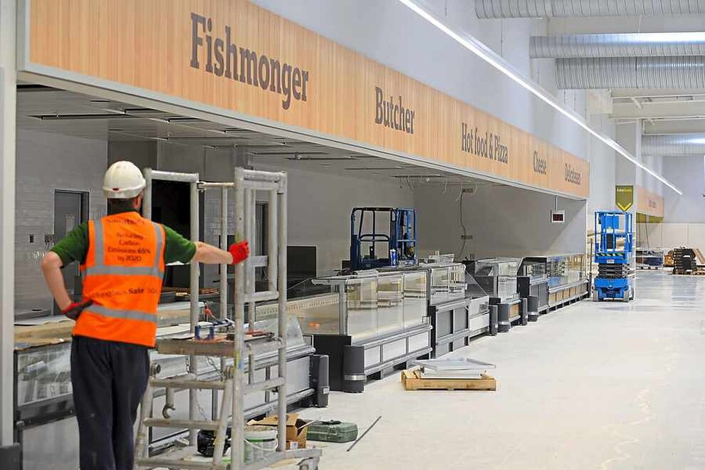First Glimpse Inside 163 60m Wolverhampton Sainsbury S