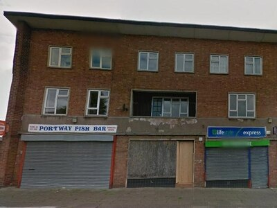 Dudley shops to be flattened as flats are approved