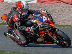 Michael Rutter secured three podiums at Darley Moor. Picture: Tony Else