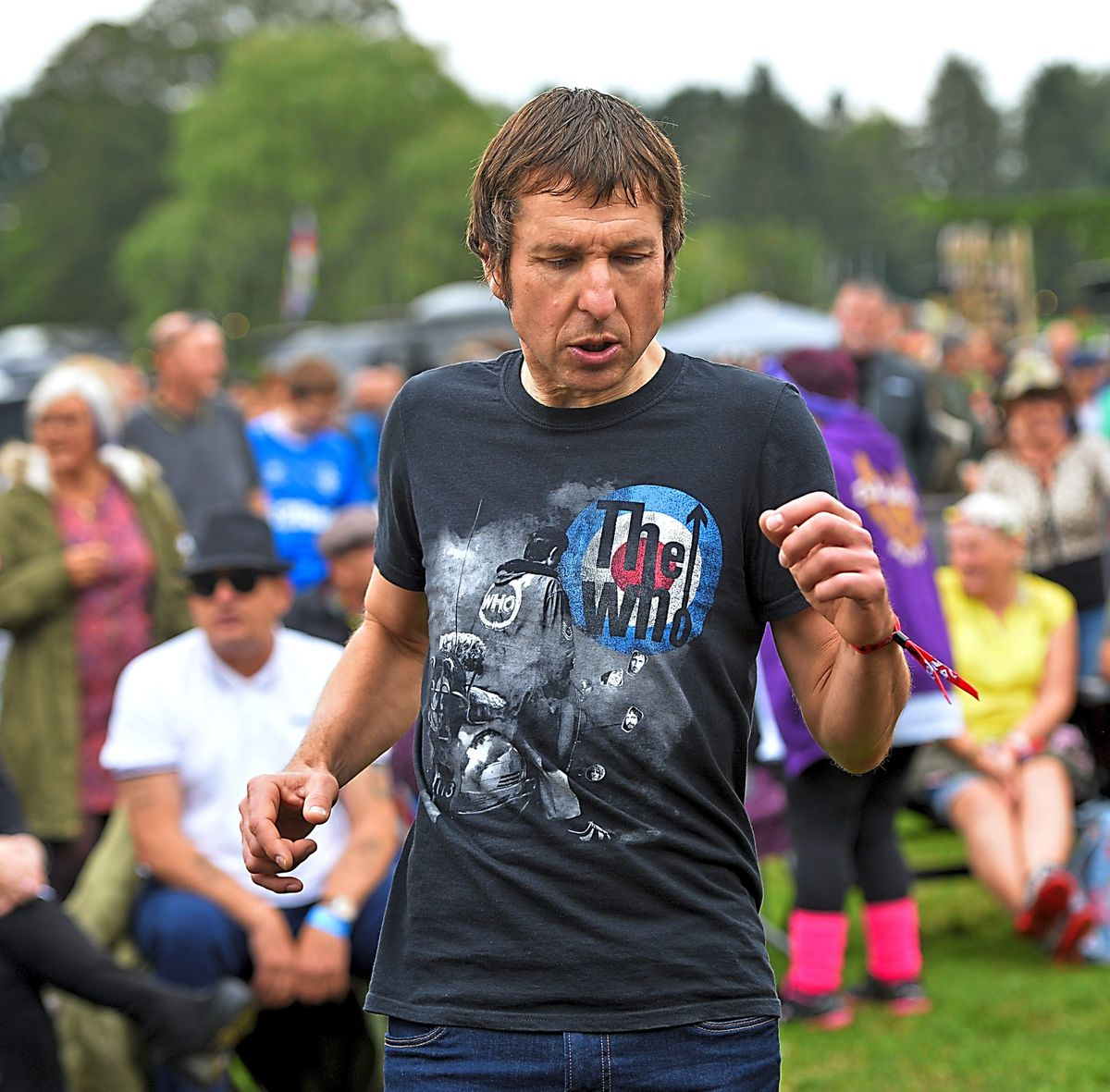 And the good times continued to roll on Sunday as fans turned out to celebrate all things mod at Himley Hall