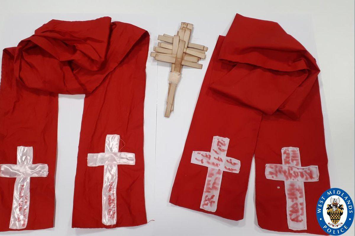 Robes worn by Michael Oluronbi