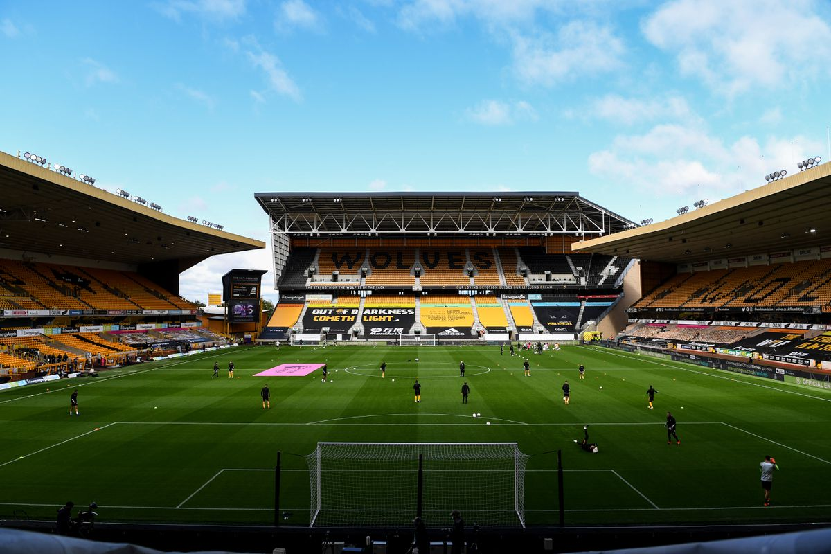 A general view of an empty Molineux Stadium, home stadium of Wolverhampton Wanderers (AMA)