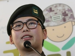 South Korea's transgender soldier urges military to let her continue service
