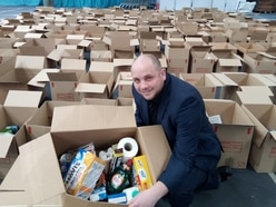 Sandwell Council packs 1,000 food boxes for vulnerable people