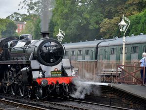 LAST COPYRIGHT SHROPSHIRE STAR STEVE LEATH 01/08/2020..Pic in Bridgnorth at the Severn Valley Railway, which is now open to the public..