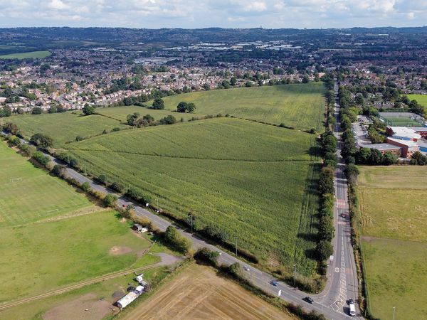 The Triangle off Kidderminster Road, Kingswinford, is one of the sites under threat in the plan