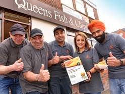 Family-run chippy batters opposition to win Staffordshire prize