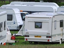 Travellers encampment near HMP Featherstone moved on
