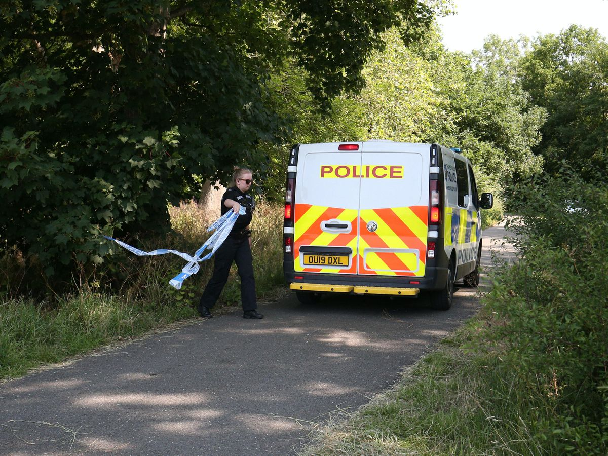 Emergency services at Thames near Cookham
