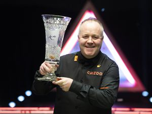 John Higgins will be one of the top 16 players in the world to take to the green baize at Aldersley Leisure Village