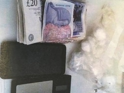 £10,000 of cocaine and cash seized after police stop car in Stafford